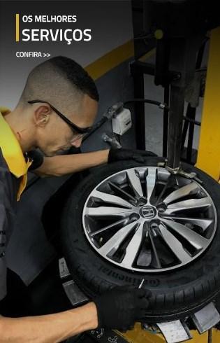 Todos serviços automotivos – alinhamento, balanceamento, troca de óleo, freio, suspensão