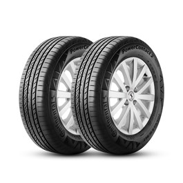 Kit 2 Pneus Continental aro 16 205/55R16 91V PowerContact 2
